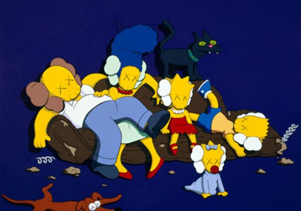 KAWS x Simpsons