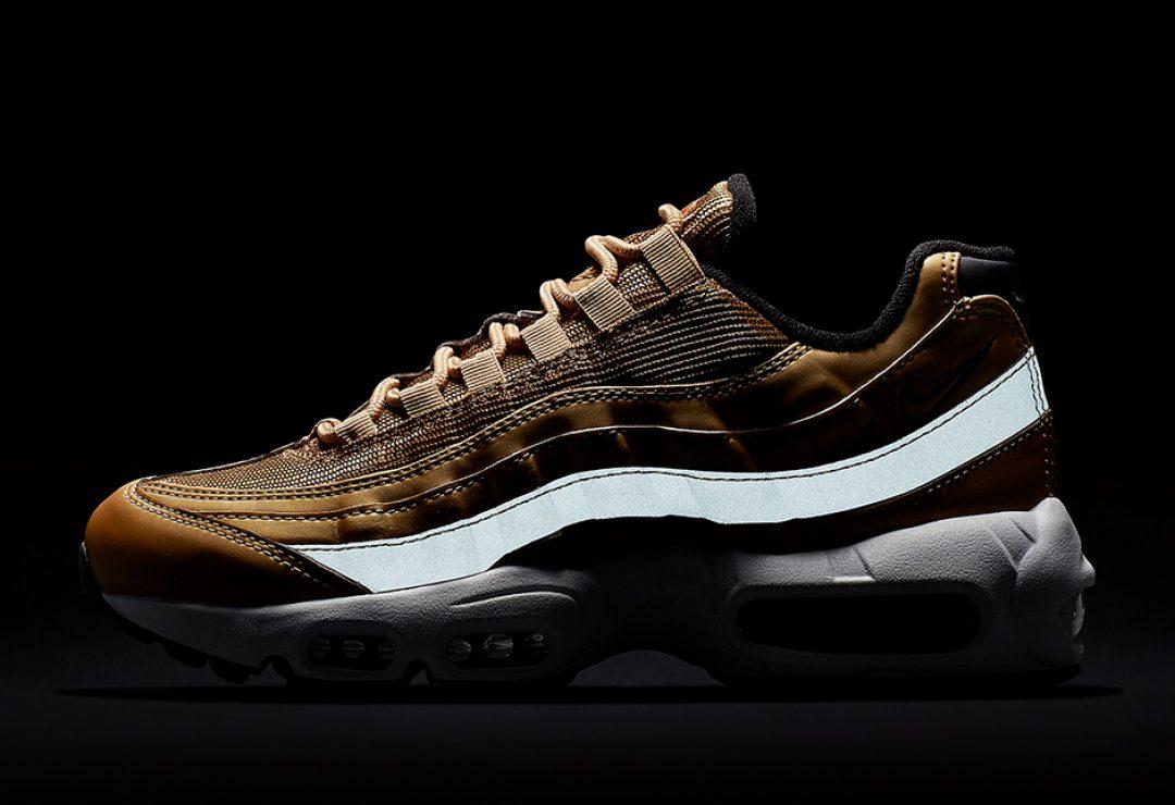 Nike applique son revêtement Metalic Gold sur ses plus