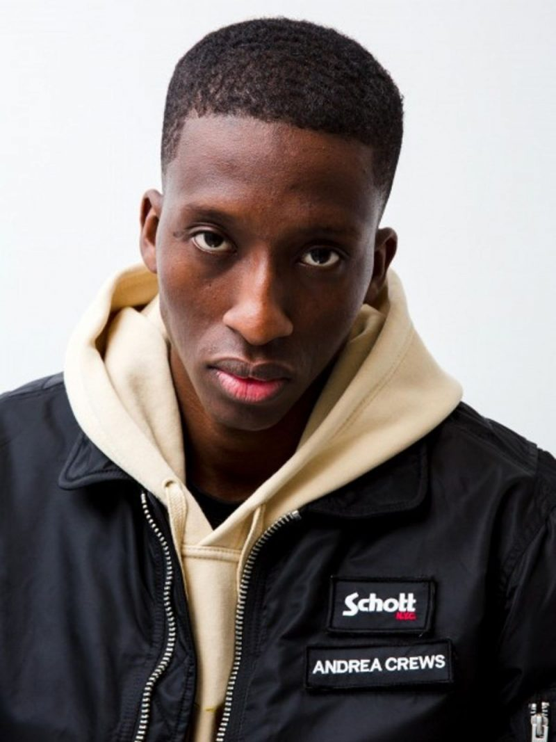 ANDREA CREWS x Schott Jacket Black