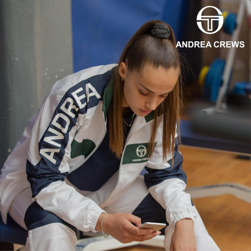 ANDREA CREWS x SERGIO TACCHINI Trackksuit White
