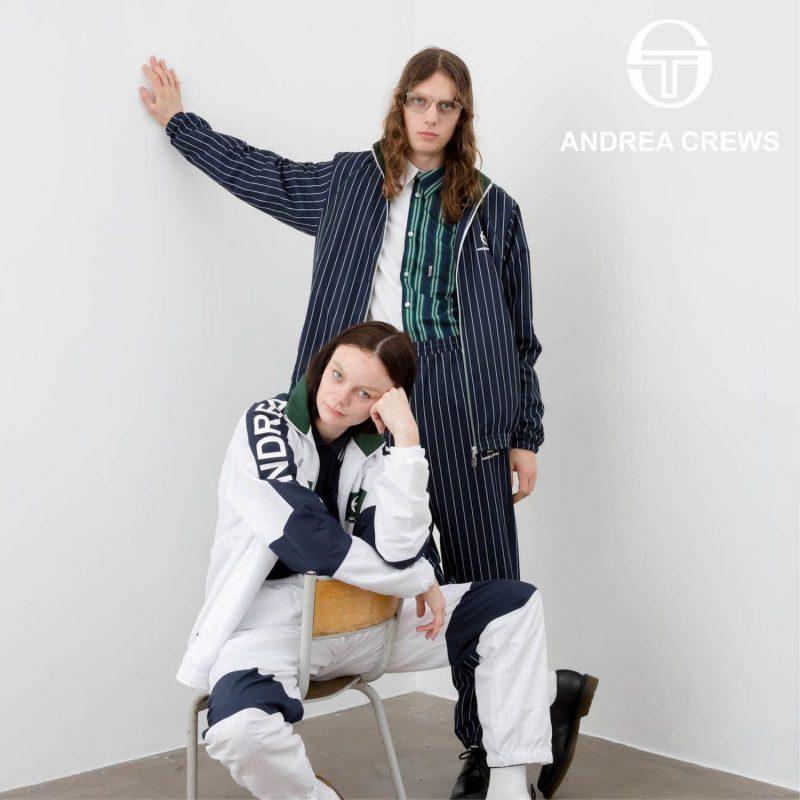 ANDREA CREWS x SERGIO TACCHINI Tracksuit