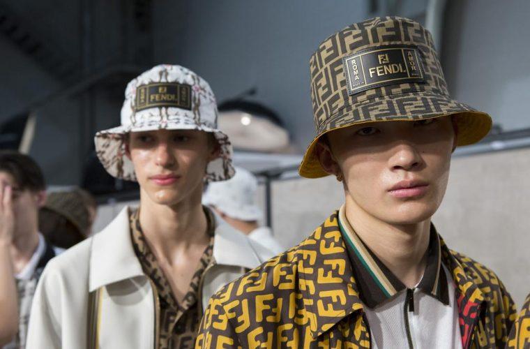 Fendi défilé fashion week milan collection printemps été 2019