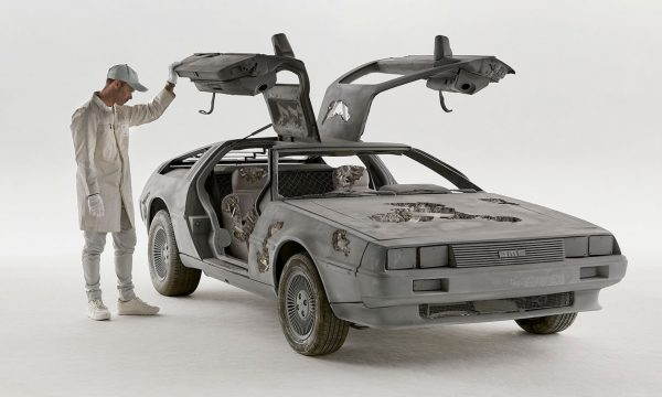 daniel arsham delorean new york 3018