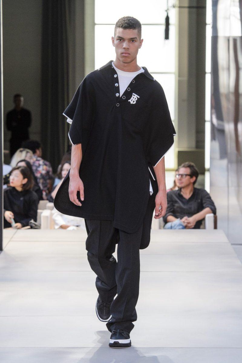 burberry londres fashion week SS19 ricardo tisci