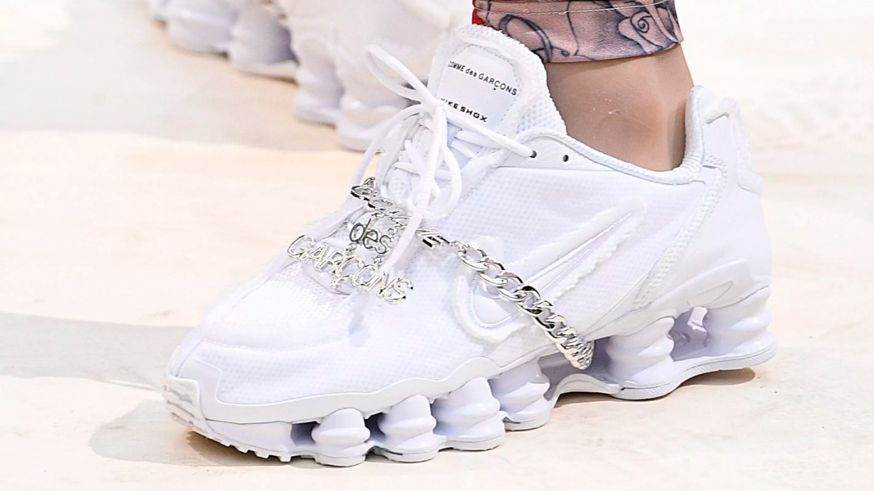 Nike Shox x Comme des Garcons Paris Fashion Week 2018 SS19