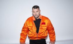 MICHAEL MICHALSKY JET SET JACKET ORANGE