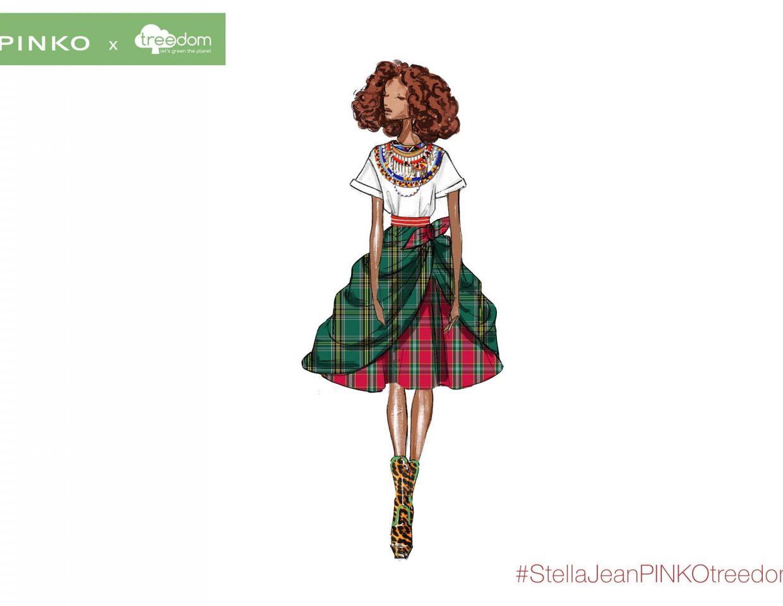 Pinko Stella Jeans Fashion Sketches Collaboration 2