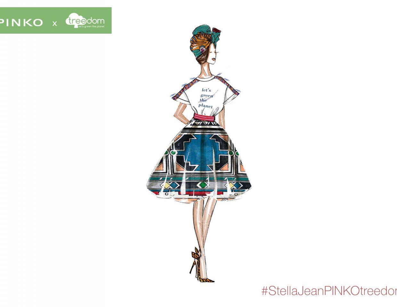 Pinko Stella Jeans Fashion Sketches Collaboration 3