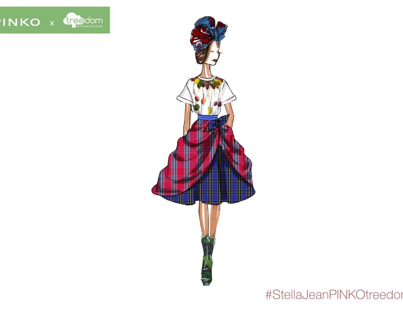 Pinko Stella Jeans Fashion Sketches Collaboration 6